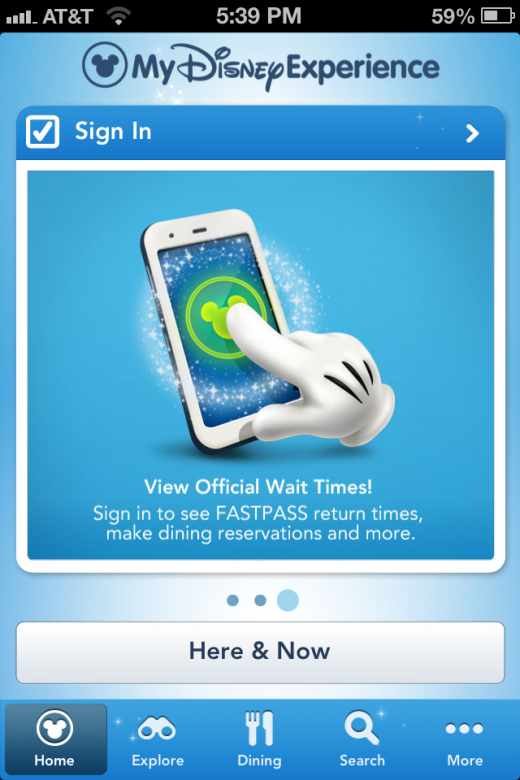 Photo Aug 02 5 39 51 PM 520x780 Disney World gets a great new My Disney Experience app, which will link to wireless NextGen Fastpass