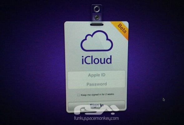 icloud login screen